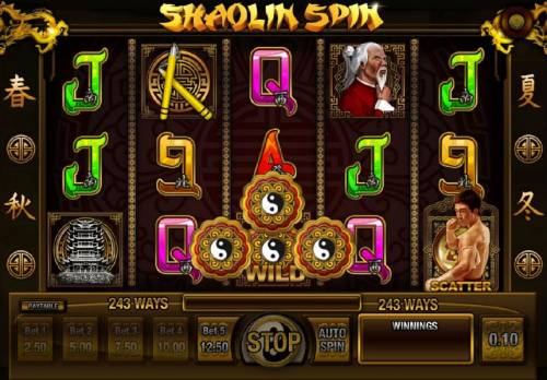 Shaolin Spin Review Slots Wild symbol will expand to change surrounding symbols into wilds