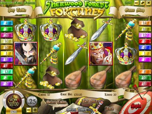 Sherwood Forest Fortunes review on Review Slots