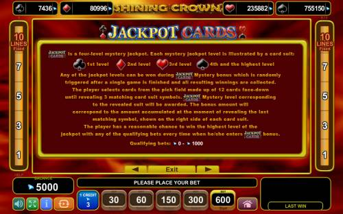 Shining Crown Review Slots Jackpot Cards Progressive Rules