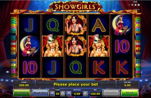 Showgirls review on Review Slots