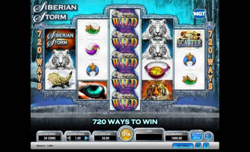 Siberian Storm Review Slots Siberian Storm on line slot game