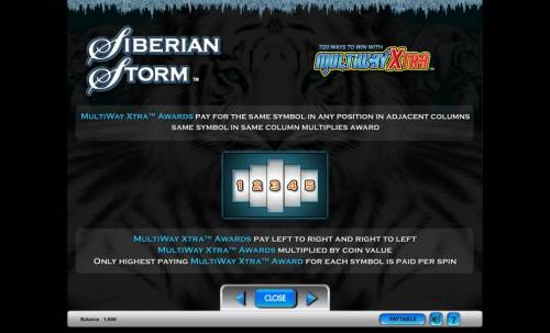 Siberian Storm Review Slots Siberian Storm MultiWay Xtra Awards