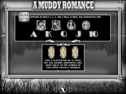 Silent Movie Review Slots A Muddy Romance Bonus - Wild and Scatters