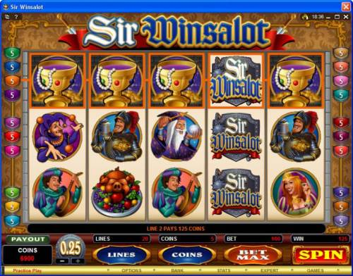 Sir Winsalot review on Review Slots