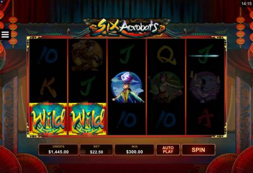 Six Acrobats review on Review Slots