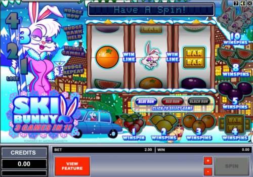 Ski Bunny review on Review Slots