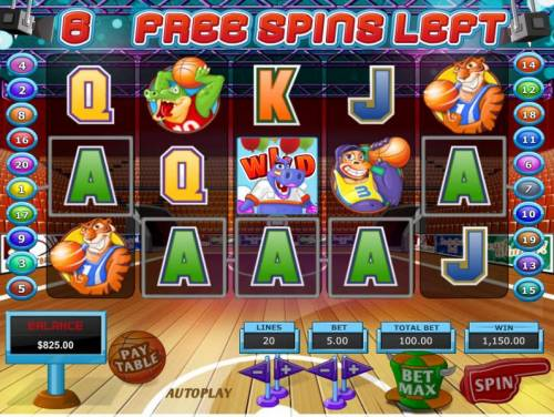 Slot Dunk Review Slots A five of a kind triggers a 1,150.00 awesome win.