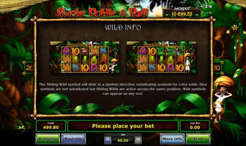 Snake Rattle & Roll Review Slots Wild Info