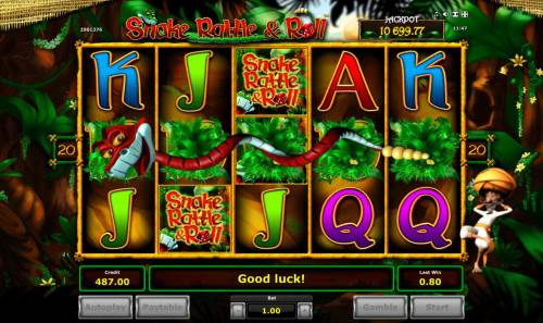 Snake Rattle & Roll Review Slots Expanded Wild acroos the reels