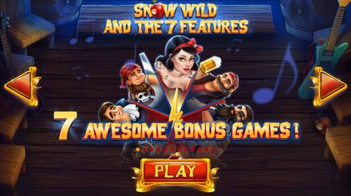 Snow Wild and the 7 Features Review Slots 7 Awesome Bonus Games