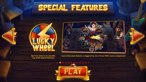 Snow Wild and the 7 Features Review Slots Lucky Wheel