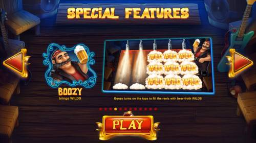 Snow Wild and the 7 Features Review Slots Boozy brings wilds