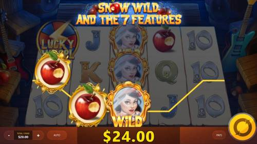 Snow Wild and the 7 Features Review Slots A winning Three of a Kind