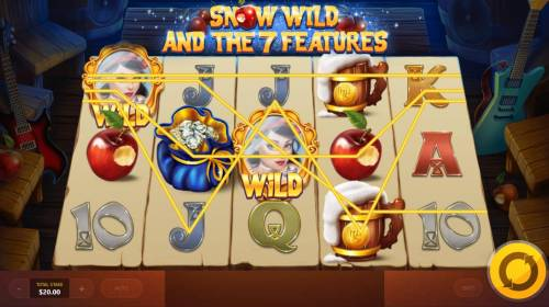 Snow Wild and the 7 Features Review Slots Multiple winning paylines