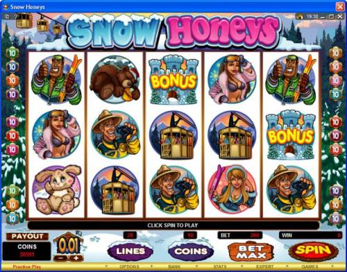Snow Honeys review on Review Slots