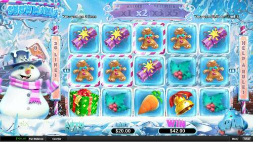 Snowmania review on Review Slots