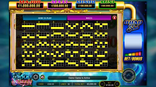 Soul Queen Quad Shot Review Slots Paylines 1-30