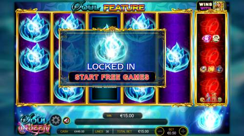 Soul Queen Quad Shot Review Slots Soul symbols locked in