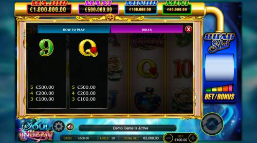 Soul Queen Quad Shot Review Slots Free Spins Low Win Symbols