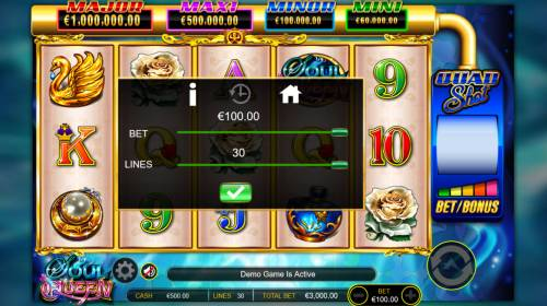 Soul Queen Quad Shot Review Slots betting Options