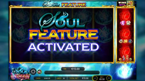 Soul Queen Quad Shot Review Slots Soul Feature Activated