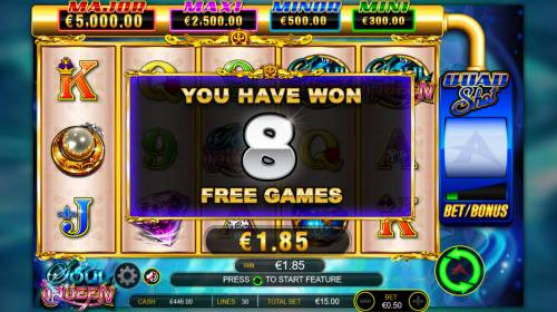 Soul Queen Quad Shot Review Slots free spins awarded