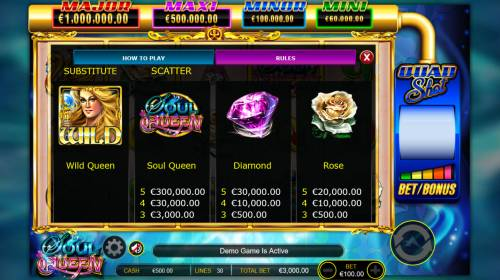 Soul Queen Quad Shot Review Slots High Win Symbols
