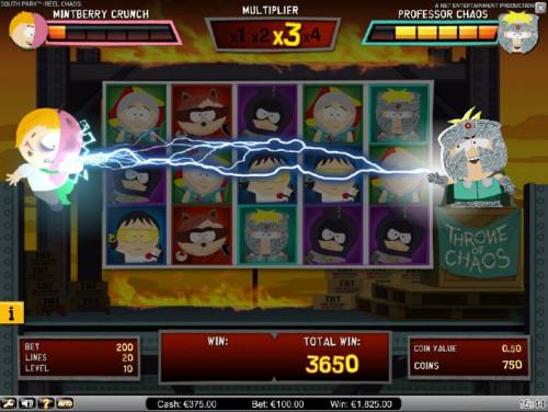 South Park Reel Chaos Review Slots Three losing spins during the bonus feature will end the game play