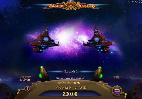 Space Corsairs Review Slots Gamdble Mode - Guess where the prize is.