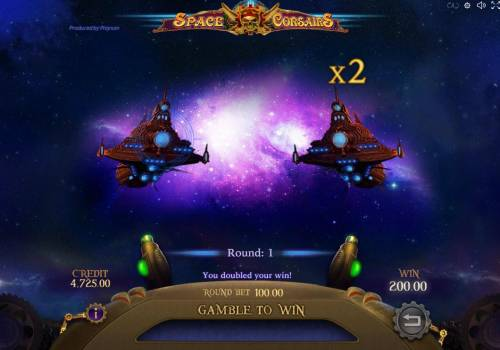Space Corsairs Review Slots Selecting the correct space ship during gamble mode will double your current winnings.