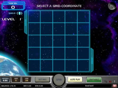Space Race Review Slots select a grid-coordinate to land your space ship
