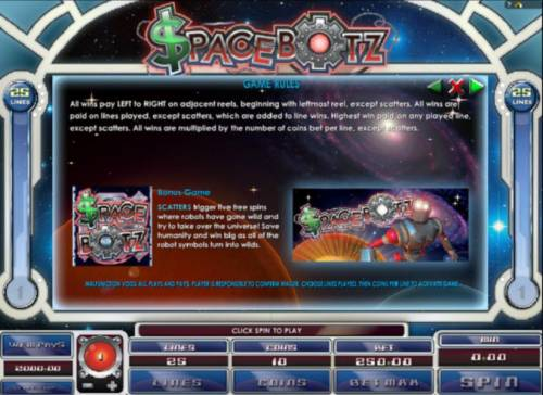 Spacebotz review on Review Slots