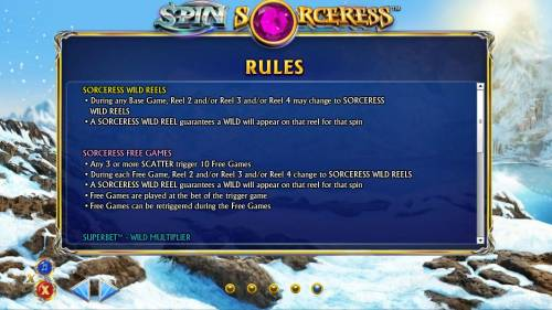 Spin Sorceress review on Review Slots