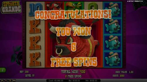 Spinata Grande review on Review Slots