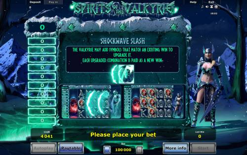 Spirits of Valkyrie Review Slots Shockwave Flash