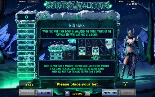 Spirits of Valkyrie Review Slots Win Stack