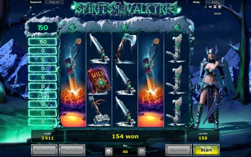 Spirits of Valkyrie Review Slots Multiple winning paylines