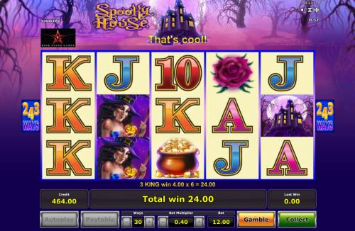 Spooky House Review Slots Multiple winning combinations