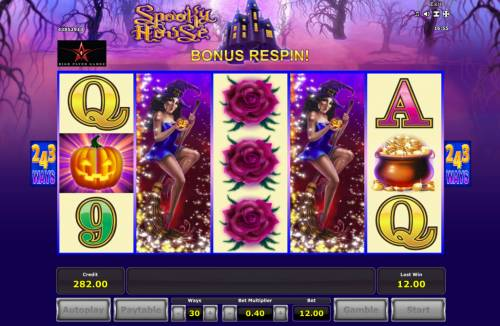 Spooky House review on Review Slots