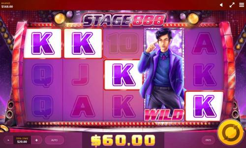 Stage 888 Review Slots A winning Five of a Kind.