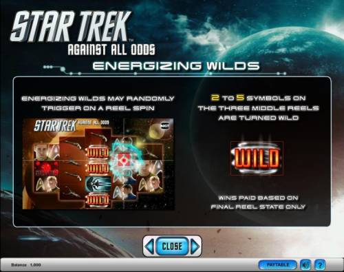 Star Trek - Against All Odds Review Slots Star Trek - Against All Odds slot game energizing wilds