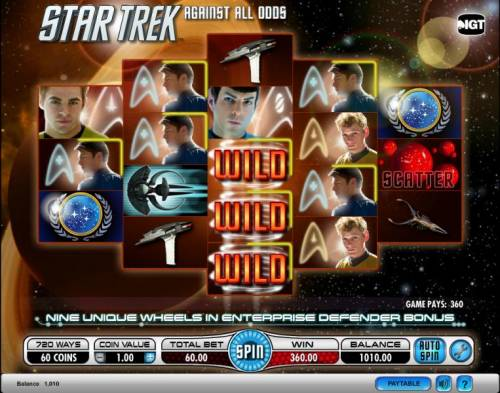 Star Trek - Against All Odds Review Slots Star Trek - Against All Odds slot game 360 coin jackpot win