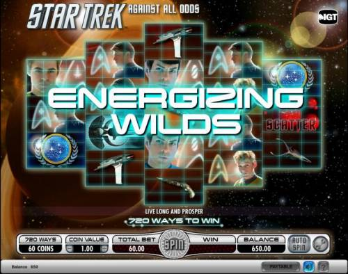 Star Trek - Against All Odds Review Slots Star Trek - Against All Odds slot game energizing wilds triggered