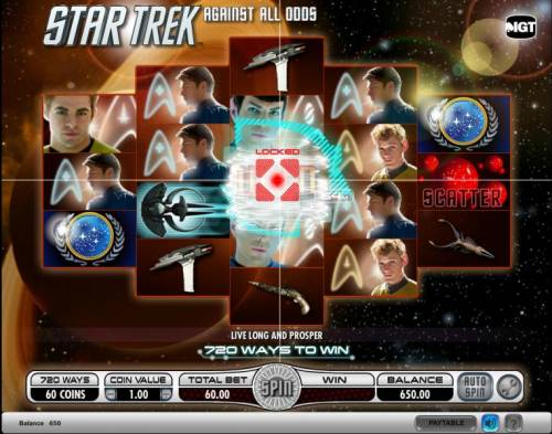 Star Trek - Against All Odds Review Slots Star Trek - Against All Odds slot game energizing scatter locked symbol