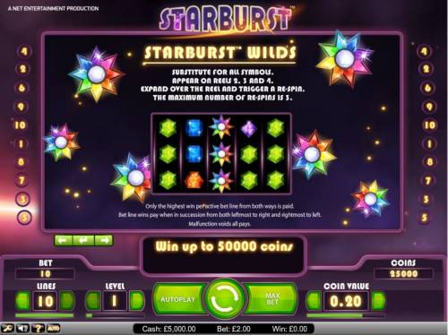 Starburst Review Slots Starburst wilds