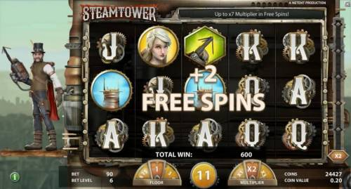 Steam Tower Review Slots Additional Free Spins can be awarded during the Free Spins Feature.