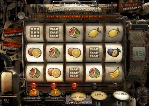 Steampunk Luck Review Slots Multiple winning paylines