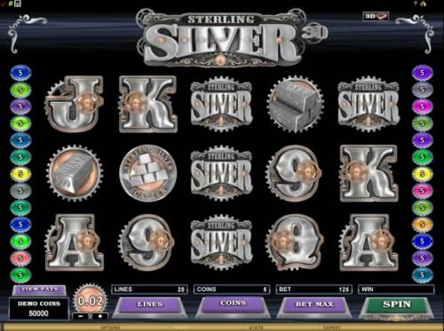 Sterling Silver 3D review on Review Slots