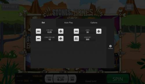 Stones & Bones review on Review Slots