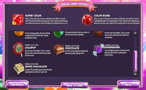 Sugar Pop! review on Review Slots